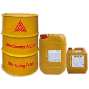 Hợp chất ăn mòn bê tông bestcleaner FA021